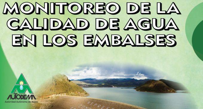 MONITOREO DE LA CALIDAD DE AGUA EN LOS EMBALSES